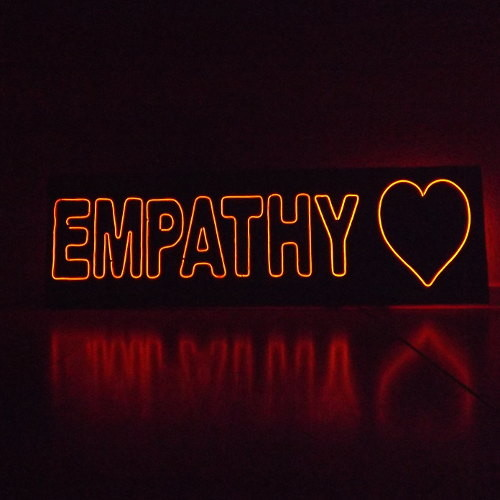 Empathy sign thumb