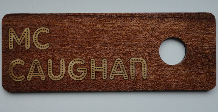 Mccaughan door sign thumb