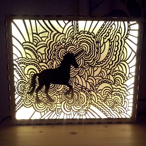 Unicorn lamp thumb